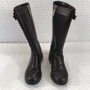 9ce0b0820f4 Michael Kors Emma Valley Brown Youth Boots size 1